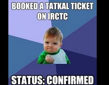 Tatkal   ticket