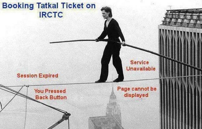 tatkal ticket booking