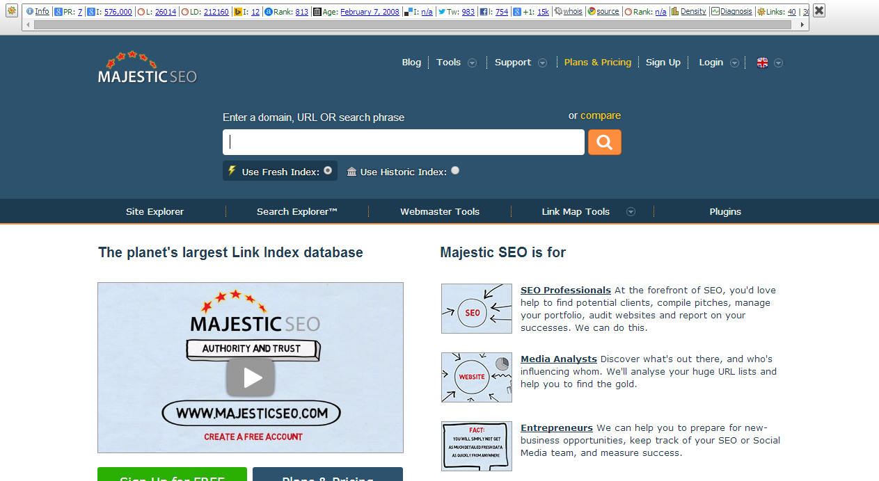 seo backlinks checker