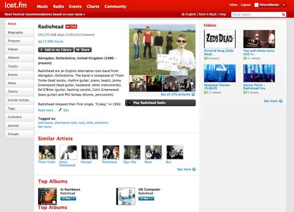 last.fm listen to free music